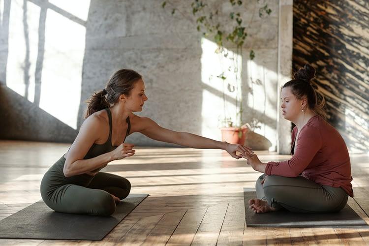 cours de yoga avec Emilie